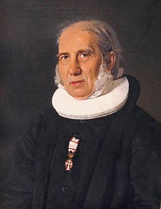 N. F. S. Grundtvig - Grundtvig in pastoral garments