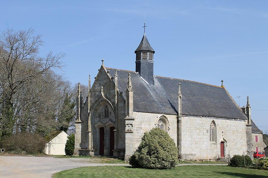 Chapelle Notre-Dame-des-Vertus à Berric (Morbihan).