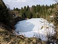NSG Schwarze Berge, Des Teufels Tintenfass im Winter.jpg