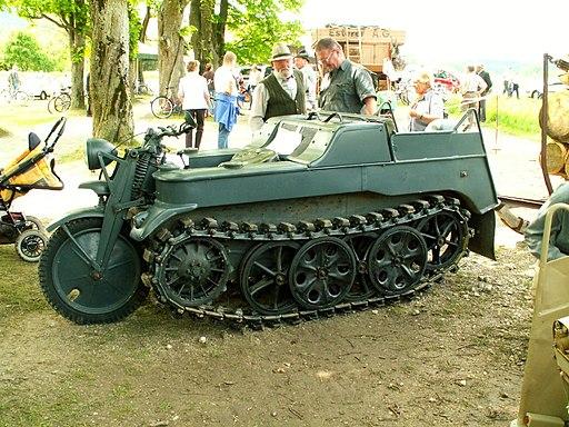 NSU Kettenkrad 36PS 1943
