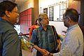 Nabakumar Basu - Swapnamoy Chakraborty - Imdadul Haq Milon - Kolkata 2015-10-10 5492.JPG