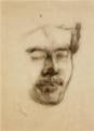 NakamuraTsune-UnknownDate-Portrait of Nakahara Teijirō.png