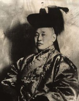 Khalkha Mongols - Tögs-Ochiryn Namnansüren of Khalkha, a leader of the National Liberation Movement of 1911