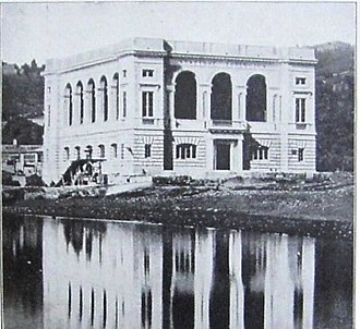 Stazione Zoologica - Stazione Zoologica in 1873