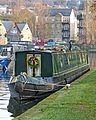 Narrowboat at Sowerby Bridge (11937045814).jpg
