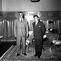 Nasser receiving Ratan Kumar Nehru the Indian Ambassador in Cairo (01).jpg