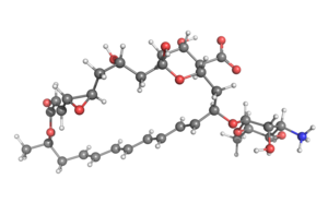 Natamycin - Image: Natamycin ball and stick