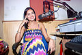 Nathalia Kaur and RGV promote Department film at Radio City FM (3).jpg