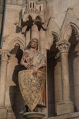 Thimo von Küstritz, Stifterfigur im Westchor des Naumburger Doms
