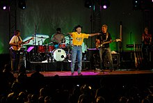 Neal McCoy performing at Needham Theater at Port Hueneme, California, 2009