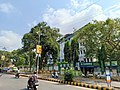 Near the entrance of Corporation Bank head office in Mangalore.jpg