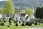 Nedre Eiker kirke og Solberg kapell mai 2018 nordfra (2).jpg