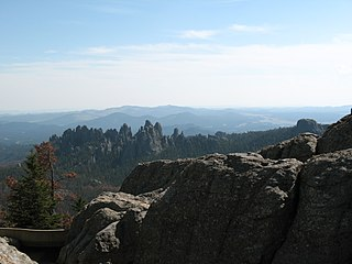 Black Hills National Forest national forest in South Dakota and Wyoming