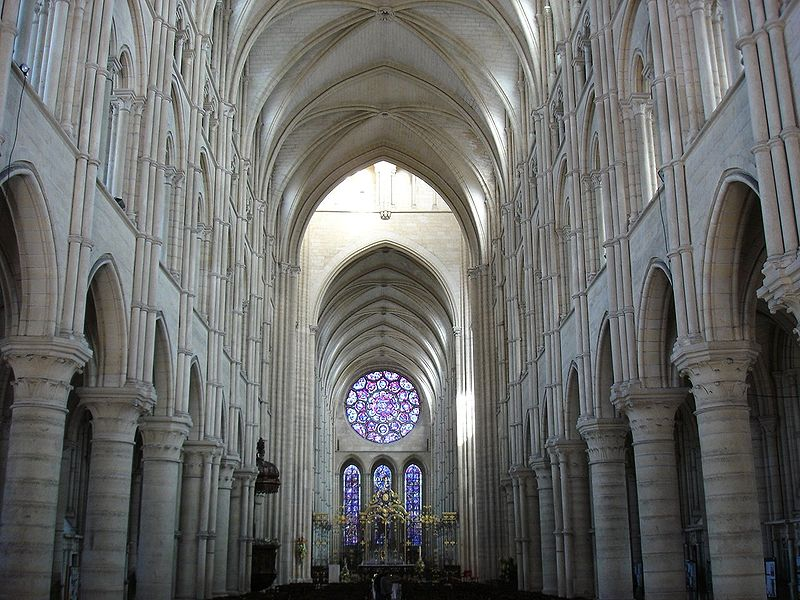 Image:Nef cathédrale Laon.jpg