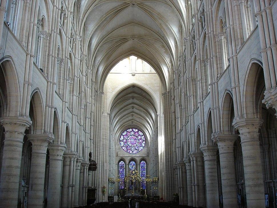 Nef cathédrale Laon