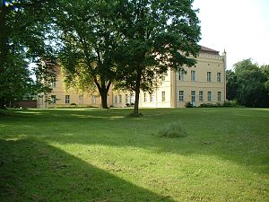 Caroline de la Motte Fouqué - Nennhausen Schloss