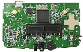 Neo Geo Pocket Color - The Neo Geo Pocket Color mainboard