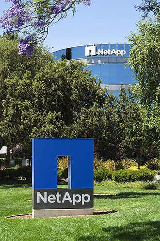 NetApp - NetApp headquarters in Sunnyvale, California