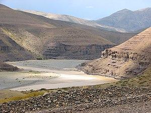 Neuquén River - Neuquen river canyon
