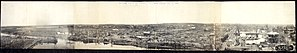 1899 New Richmond tornado - Panoramic view of the damage