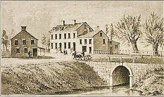 Canal Street (Manhattan) - Broadway crossing the canal in 1811