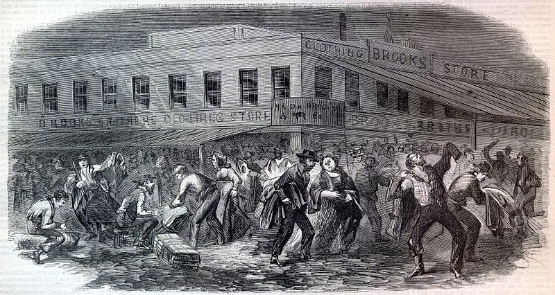 the cause of the new york city draft riots of 1863 The american civil war is often the 1863 new york draft riots the military response took three days to reach the city, mainly because the new york state.
