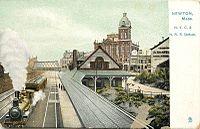 Newton station Raphotype postcard.jpg