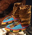 Nez Perce moccasins, c. 1890 - Bata Shoe Museum - DSC00563.JPG