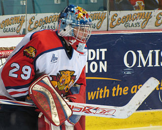 Moncton Wildcats - Wildcats goalie Nicola Riopel set the QMJHL record for fewest goals against average in the 2008–2009 season