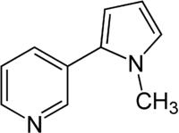 Strukturformel von Nicotyrin