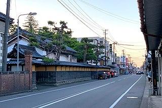 Gosen, Niigata City in Chūbu, Japan