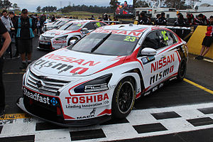 Nismo Global Driver Exchange - Nissan Altimas from the International V8 Supercars Championship.