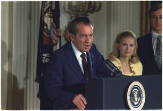 Impeachment process against Richard Nixon 1970s preliminary process to remove the President of the United States