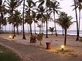 Noite caindo na Costa do Sauípe.JPG