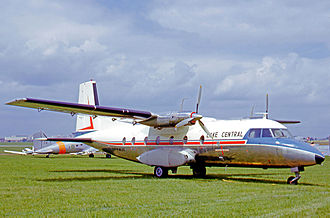 Lake Central Airlines - The first Nord 262 for Lake Central was delivered in August 1965