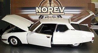 Norev - Citroën SM in 1:18 scale, made in China