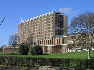 Norfolk County Council - Image: Norfolk County Hall, Martineau Lane geograph.org.uk 153348