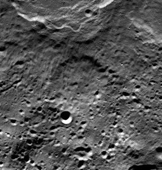 Brashear (lunar crater) - Clementine photo