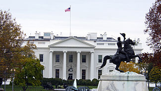 North Portico of the White House photo D Ramey Logan.jpg