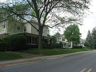 North Wabash Historic District - North Wabash Historic District, May 2012