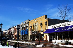 Northville, Michigan - East Main Street