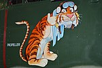 Nose art on North American B-25J Mitchell 'N6116X' (44-86791) (25920755921).jpg
