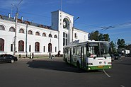 Novgorod - Bus at main station 02