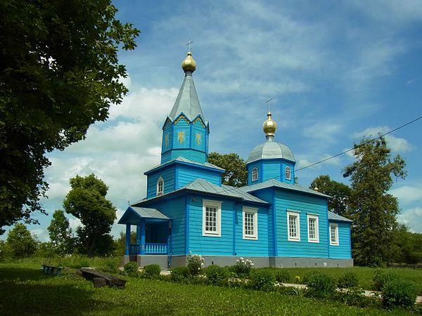 Церква Різдва Богородиці (дер.), с. Новосілки, © Вячеслав Галєвський, ліцензія CC-BY-SA-4.0
