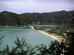 Torrent Bay i Abel Tasman National Park.