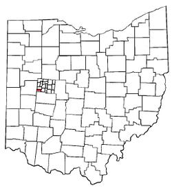 Miami Township Ohio Map.Miami Township Logan County Ohio Wikipedia