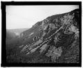 OLD BIG OAK FLAT ROAD IN TALUS SLOPE. - Yosemite National Park Roads and Bridges, Yosemite Village, Mariposa County, CA HAER CAL,22-YOSEM,5-23.tif