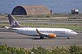 OY-JTC B737-3L9W JetTime LPA 04FEB11 (5425656922).jpg