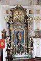 Oberndorf am Lech, St Nikolaus, Altar 004.JPG