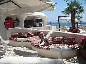 Arcadia Park, Odessa - Image: Odessa Arcadia Ibiza Club Interior